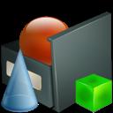 Obsahuje kompletní sadu ikon pro všechny myslitelné operace a zařízení ve Windows