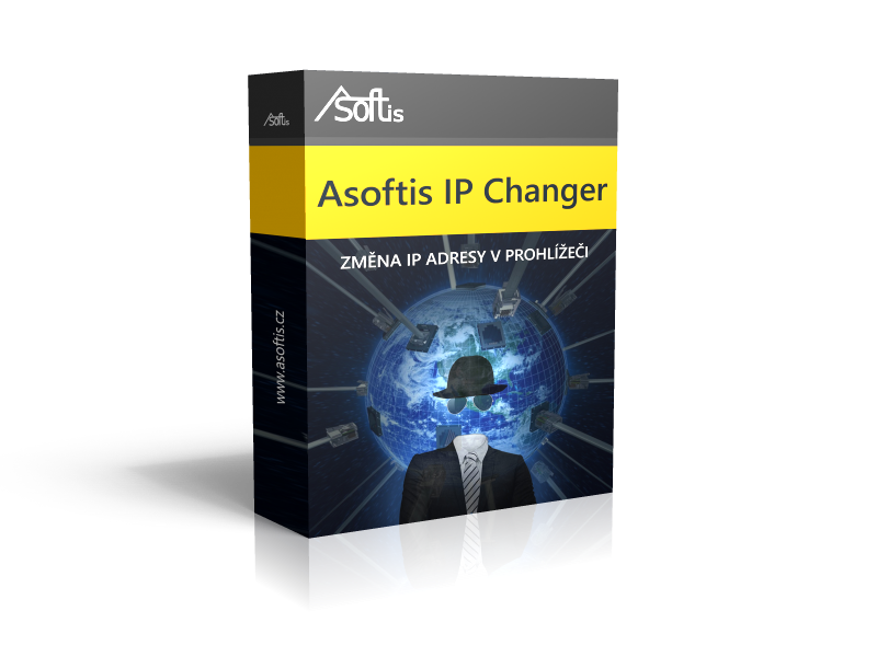 Asoftis IP Changer: jednoduchá změna IP adresy a státu připojení