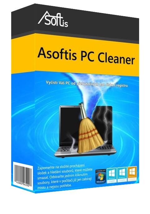 Asoftis PC Cleaner: vyčistí disk, systémový registr a celá Windows
