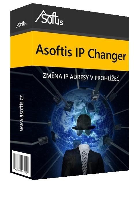Asoftis IP Changer: změní IP adresu, skryje identitu